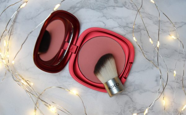 KIKO blush kit ingezoomd